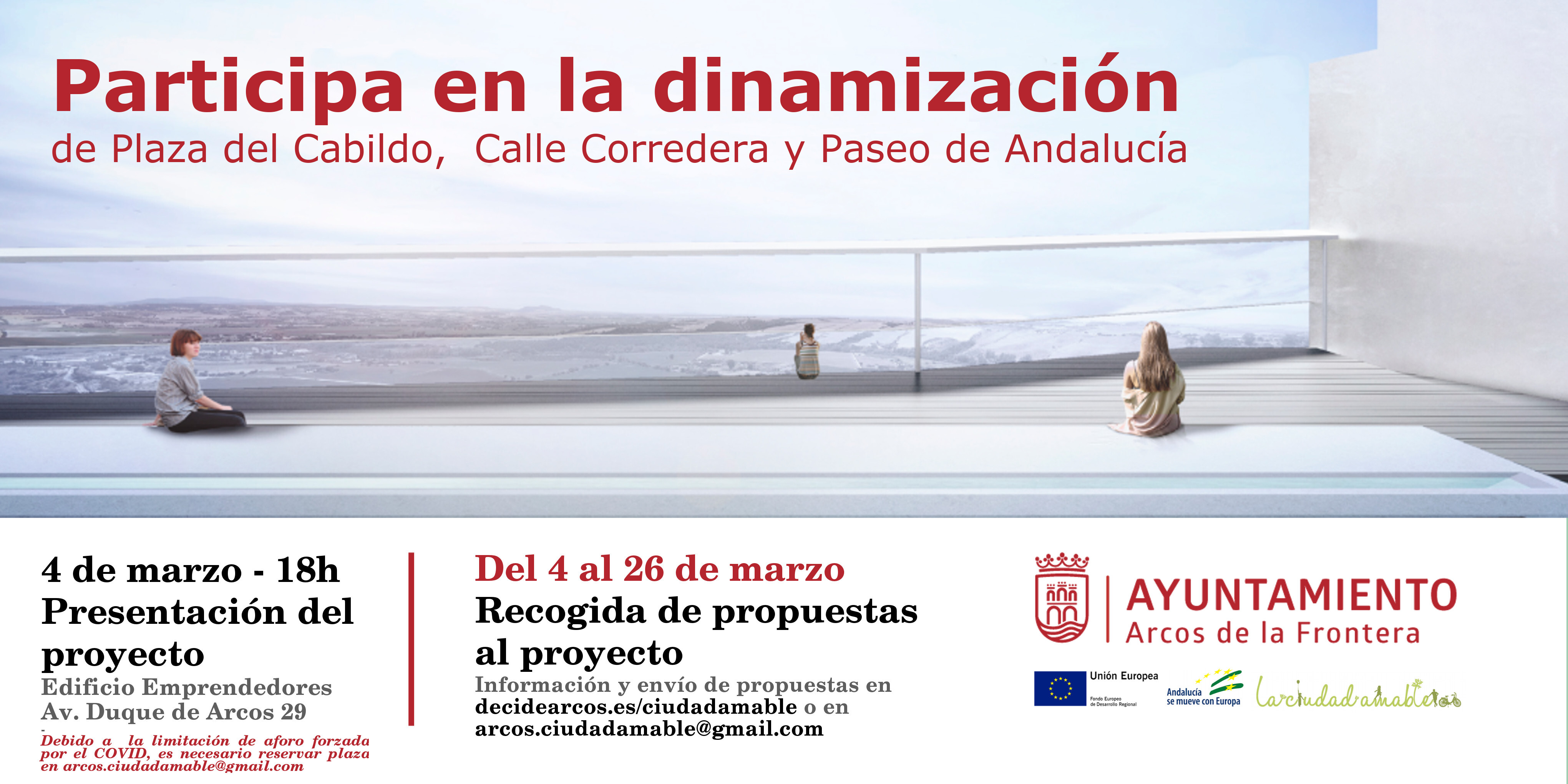Banner Ciudad Amable de Arcos